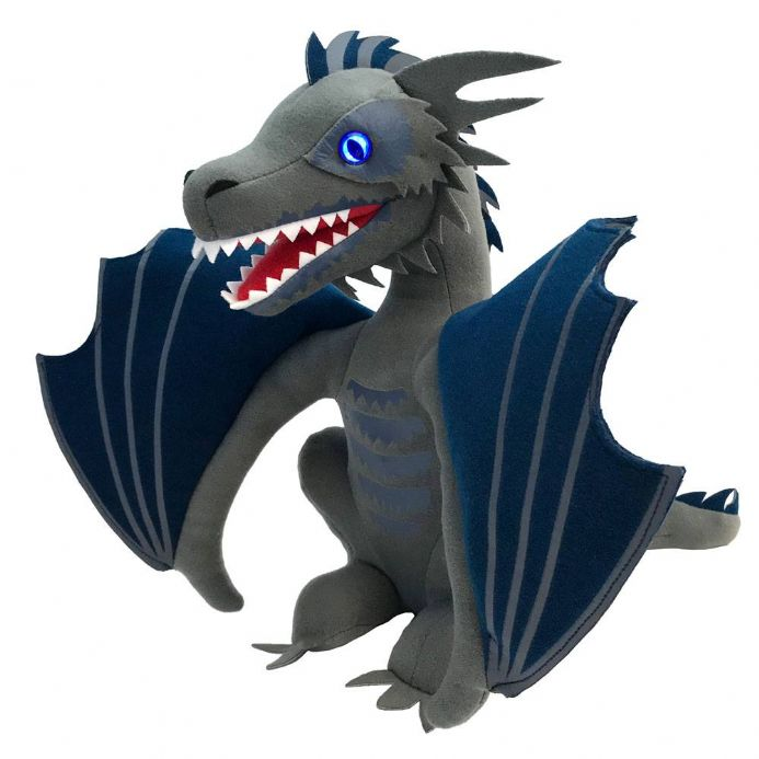 Game Of Thrones Icy Viserion Dragon Light Up Plush | Buy now at The G33Kery - UK Stock - Fast Delivery